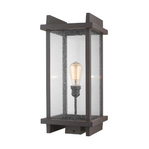 Fallow Deep Bronze One-Light Outdoor Post Mount