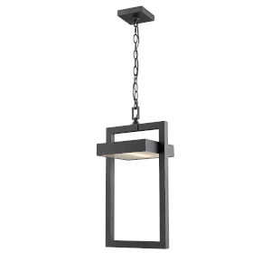 Luttrel Black One-Light LED Outdoor Pendant