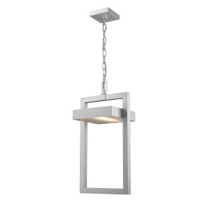Luttrel Silver One-Light LED Outdoor Pendant