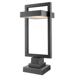 Luttrel Black LED Outdoor Pier Mount