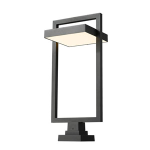 Luttrel Black 32-Inch One-Light LED Outdoor Pier Mount