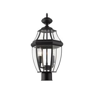 Westover Black 18-Inch Two-Light Outdoor Post Mount