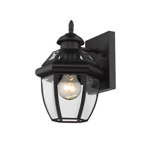 Westover Black 7-Inch One-Light Outdoor Wall Sconce