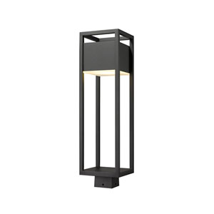Barwick Black 26-Inch One-Light LED Outdoor Post Mount