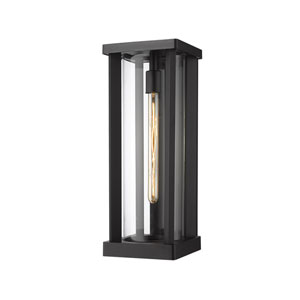 Glenwood Black 20-Inch One-Light Outdoor Wall Sconce