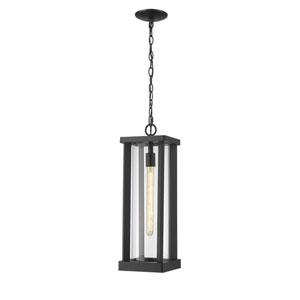Glenwood Black One-Light Outdoor Pendant
