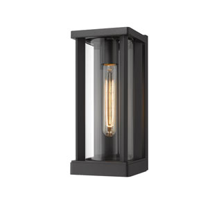 Glenwood Black 5-Inch One-Light Outdoor Wall Sconce