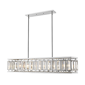 Mersesse Chrome  Seven-Light Pendant