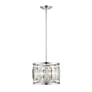 Mersesse Chrome Three-Light Pendant