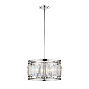 Mersesse Chrome Four-Light Pendant