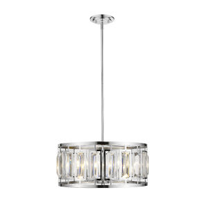 Mersesse Chrome Five-Light Pendant