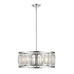 Mersesse Chrome Six-Light Pendant