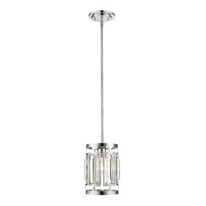 Mersesse Chrome One-Light Mini Pendant
