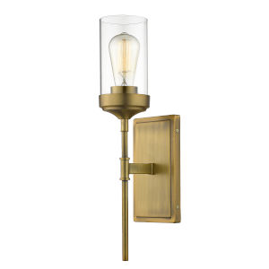 Calliope Foundry Brass One-Light Wall Sconce
