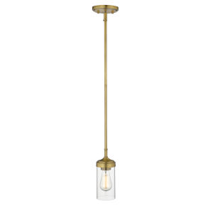 Calliope Foundry Brass One-Light Mini Pendant