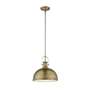 Melange Heritage Brass One-Light Pendant