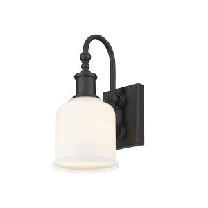 Bryant Matte Black One-Light Six-Inch Wall Sconce