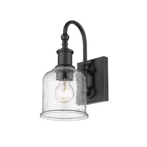 Bryant Matte Black One-Light Wall Sconce