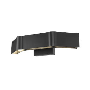 Arcano Matte Black Three-Light LED Bath Vanity