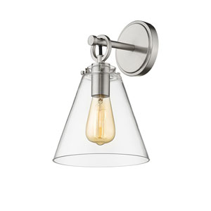 Harper Brushed Nickel One-Light Wall Sconce