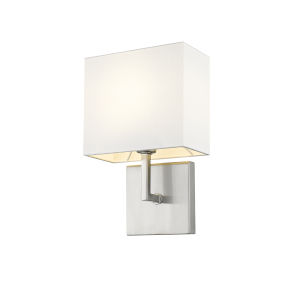 Saxon Brushed Nickel One-Light Wall Sconce