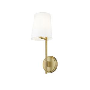 Winward Rubbed Brass One-Light Wall Sconce