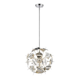 Branam Chrome Five-Light Pendant
