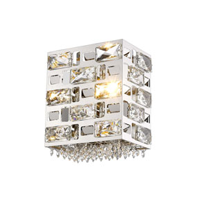 Aludra Chrome One-Light Wall Sconce