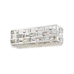 Aludra Chrome Three-Light LED Bath Vanity