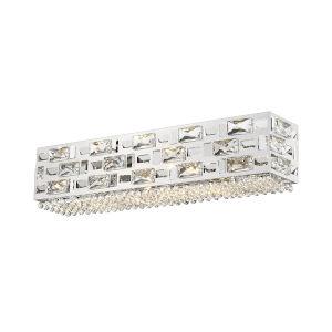 Aludra Chrome Five-Light LED Bath Vanity