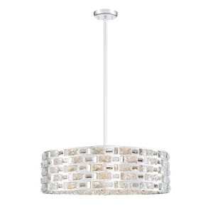 Aludra Chrome Seven-Light Pendant