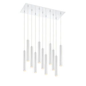 Forest Chrome LED 11-Light Mini Chandeliers
