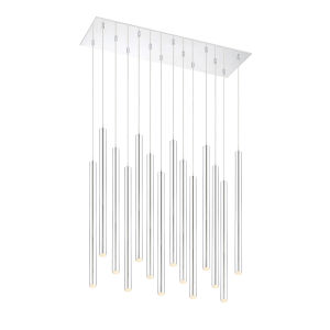 Forest Chrome LED 14-Light Mini Chandeliers