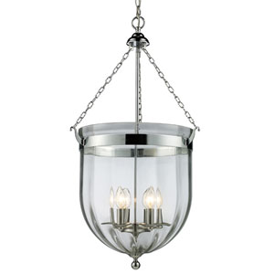 Warwick Chrome Six-Light Pendant