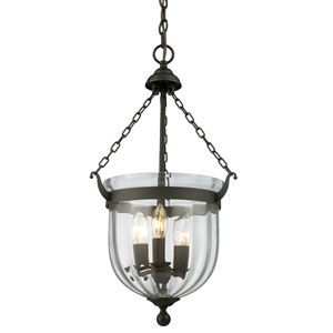 Warwick Bronze Three-Light Pendant