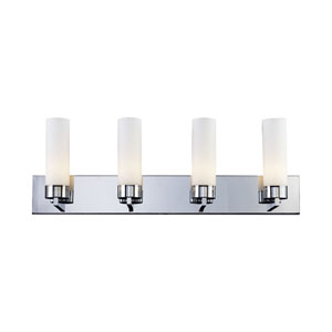 Ibis Chrome Four-Light Bath Fixture
