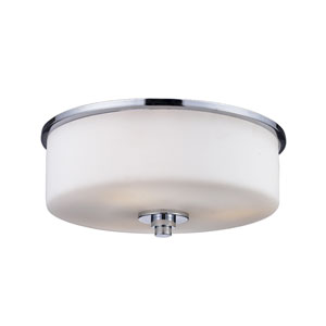 Ibis Chrome Two-Light 11-Inch Flush Mount