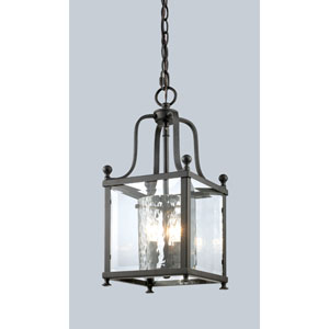 Fairview Bronze Three-Light 8-Inch Pendant