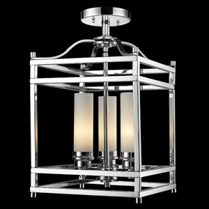 Altadore Three-Light Semi-Flush Mount