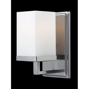 Tidal Brushed Nickel One-Light Bath Fixture