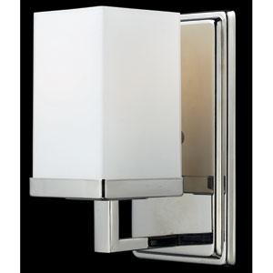 Tidal Chrome One-Light Bath Fixture