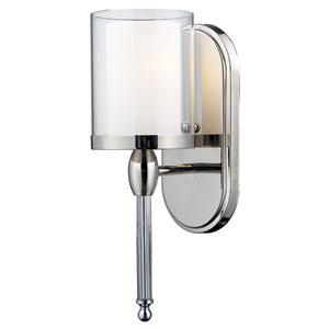 Argenta Chrome One-Light Bath Fixture