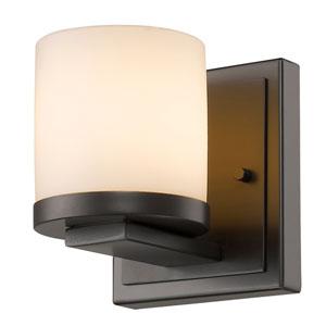 Nori Bronze One-Light Vanity Fixture