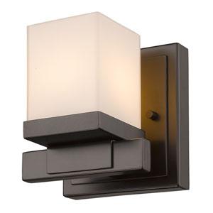 Cadiz Bronze One-Light Vanity Fixture