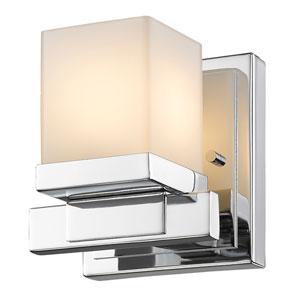 Cadiz Chrome One-Light Vanity Fixture