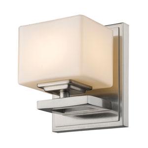 Cuvier Brushed Nickel One-Light Vanity Fixture