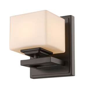 Cuvier Bronze One-Light Vanity Fixture