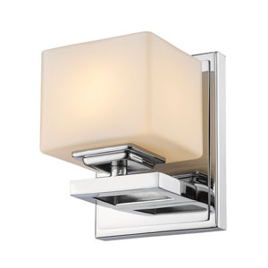 Cuvier Chrome One-Light Vanity Fixture