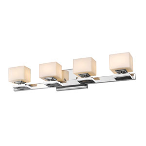 Cuvier Chrome Four-Light Vanity Fixture
