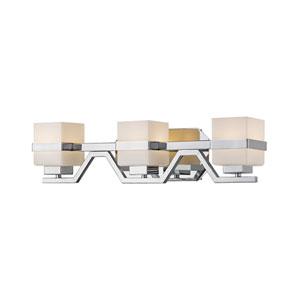 Ascend Chrome Three-Light LED Vanity